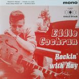 "7"" EP ✦ EDDIE COCHRAN ✦ ""Rockin' With Ray"" Limited 400 copies Edition!!!!Hear♫"